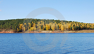 River And Autumn Forest Stock Images - Image: 13574184