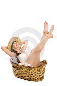 Basket Stock Images - Image: 13574554