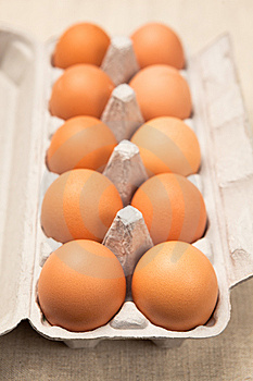 Open Eggbox Royalty Free Stock Photos - Image: 13576658