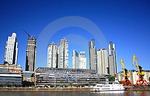 Buenos Aires Skyline Stock Image - Image: 13577051