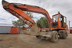 The Heavy Building Bulldozer Royalty Free Stock Photography - Image: 13577547