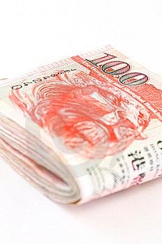 Hong Kong Cash Pile Royalty Free Stock Image - Image: 13579156