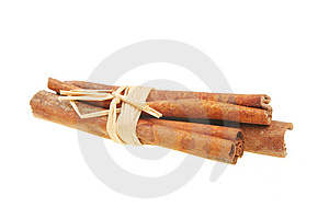 Bundle Of Cinnamon Sticks Royalty Free Stock Images - Image: 13579689