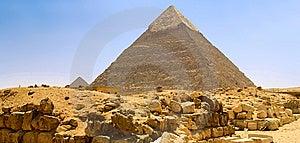 Egyptian Pyramid Stock Photo - Image: 13580270