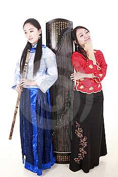 Chinese Musicians Stock Images - Image: 13583604