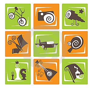 Activity Signs Stock Images - Image: 13583614