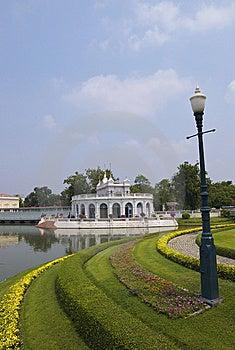 Bang Pa-In Royal Palace Royalty Free Stock Photo - Image: 13583645