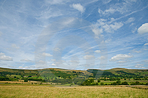 Hills Of Derbyshire Royalty Free Stock Photography - Image: 13590277