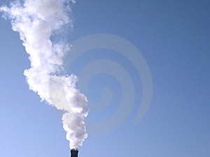 Smokestack Royalty Free Stock Photos - Image: 13592928