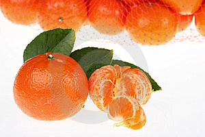 Tangerines Packed Stock Images - Image: 13594004