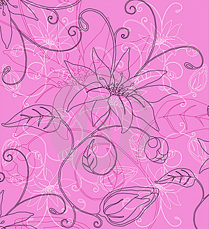 Abstract Flowers Background Stock Photography - Image: 13594692