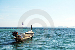 Long Tail Boat In Andaman Sea Royalty Free Stock Photos - Image: 13597188