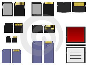 Set Of Flash Cards Royalty Free Stock Images - Image: 13598399