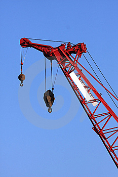 A Tall Crane Stock Photos - Image: 13599153