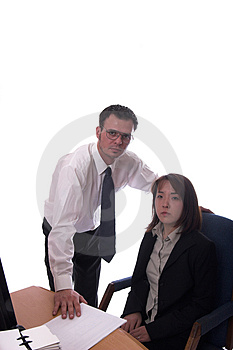 Happy Co-workers Royalty Free Stock Photos - Image: 1364408