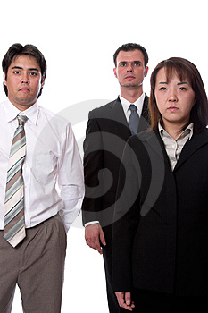 Business Team 3 Royalty Free Stock Image - Image: 1364436