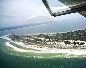 Saint Joseph Peninsula Of Cape San Blas Royalty Free Stock Photography - Image: 1365677