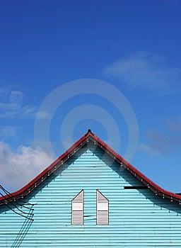 Green House Exterior Royalty Free Stock Photos - Image: 1368738