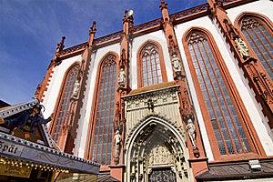 Marienkapelle (chapel) In Wuerzburg, Bavaria Stock Image - Image: 13601461