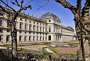 Residence, Wuerzburg, Bavaria Royalty Free Stock Image - Image: 13601656