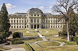 Residence, Wuerzburg, Bavaria Royalty Free Stock Photo - Image: 13601765