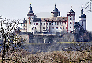 Marienfestung (fortress), Wuerzburg Royalty Free Stock Images - Image: 13602209