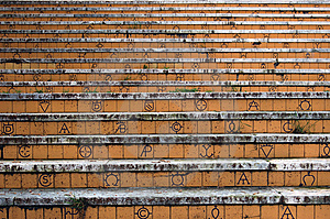 Details Of The Steps Stock Images - Image: 13604544