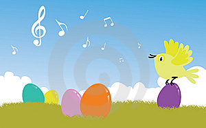 Easter Song Stock Photos - Image: 13605763