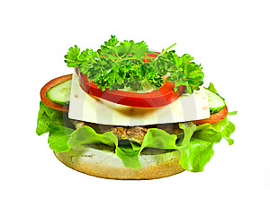 Cheeseburger Royalty Free Stock Photography - Image: 13606067