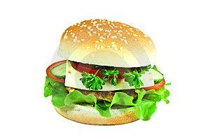 Cheeseburger Royalty Free Stock Photos - Image: 13606098