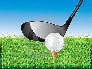 Playing Golf Stock Image - Image: 13606271