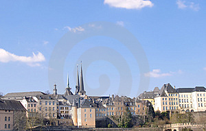 Luxembourg In Winter Stock Photo - Image: 13610870