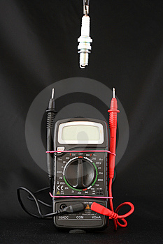 Tension Measure Royalty Free Stock Photography - Image: 13610947