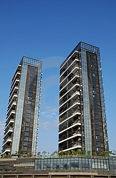 New Residential Buildings Stock Photo - Image: 13612860
