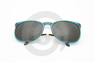 Glasses A Simulator Royalty Free Stock Image - Image: 13613376