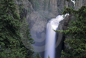 Tower Falls, Yellowstone Stock Photos - Image: 13614123