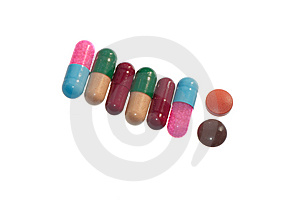 Pills Royalty Free Stock Images - Image: 13614739