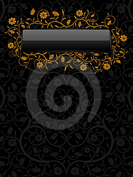 Floral Banner Royalty Free Stock Image - Image: 13614816