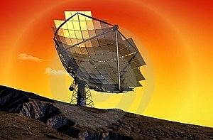 The Solar Battery Stock Photos - Image: 13616883