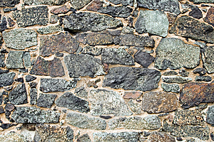 Medieval Wall Brick Texture Or Background Royalty Free Stock Photo - Image: 13617495