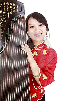 Chinese Musician Stock Photo - Image: 13618520