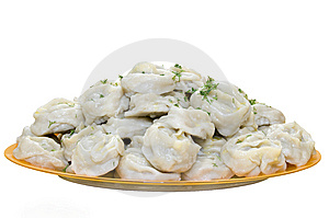 Tasty Manti Royalty Free Stock Photo - Image: 13618675