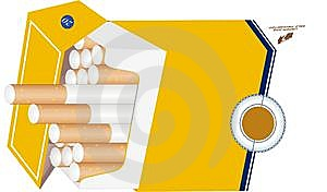 Cigarettes In Packet Royalty Free Stock Photos - Image: 13618748