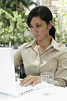 Businesswoman Working Stock Photos - Image: 13621773