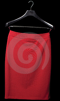 Red Skirt Stock Image - Image: 13621821