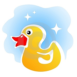 Yellow Duck Stock Image - Image: 13623231