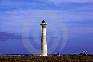 Lighthouse, Morro De Jable, Jandia Playa, Fuerteve Royalty Free Stock Photos - Image: 13623588