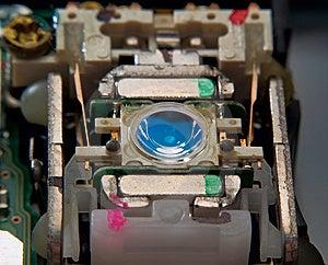Laser Head Unit Close Up Royalty Free Stock Photo - Image: 13627385