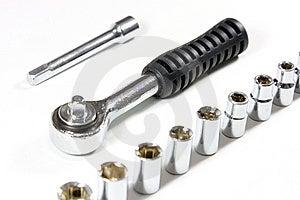 Socket Wrench Set Royalty Free Stock Photography - Image: 13628677