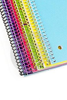 Notebooks Stock Photo - Image: 13628930